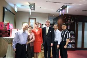 With Singapore CBMC Members
