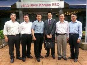 이정길 회원 싱가폴 방문